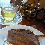 ばじ公園八番 - チョコレートケーキとカモミールティー