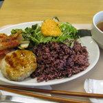 SOUP&DELI 80*80 hachimaru-hachimaru - ハチマルプレート