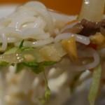 チャオハノイ - (2015/4月)「サラダ麺、グリル牛肉と新鮮野菜のせ、ニュクチャム添え」の麺