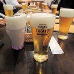 トラットリア リトル ターン - 生ビール