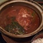 横濱みなと亭 - 煮込みハンバーグ