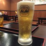 虎と龍 - 生ビール