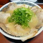 ラーメン京龍 - チャーシュー麺(白龍)