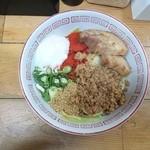 自家製麺 てんか - 2015年2月 汁なし(小) 730円