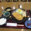 サンクシティピア・ジョリー - 料理写真:エビ豚カツ定食 1050円