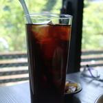 ジャズ オリンパス! - セットのアイスコーヒー