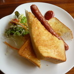 Cafe & Kitchen Rabbits - トースト&ソーセージ