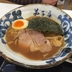 38009322 - 【2014年12月】魚介しぼり醤油ラーメン@800円。
