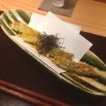 松濤はろう - アスパラの天ぷら