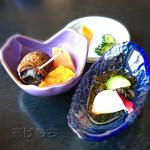 魚幸 - セットの小鉢