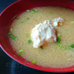 魚幸 - セットの味噌汁