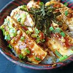 魚幸 - カジキマグロのステーキ丼