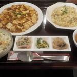 福隆 - 麻婆豆腐セット