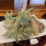 翠明庵  - 野菜天ぷら