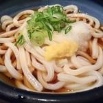 うどん しのぶ庵  - ぶっかけうどん380円(税込)