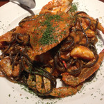 イル・アルバータ - 渡り蟹のトマトソースパスタ
