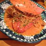 エビスバール - 渡り蟹のトマトソーススパゲッティ
