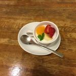 レストラン Lachs - ミルフィーユチーズカツについてきたデザート