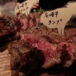 38016725 - 尾崎牛3種盛り(値段不明)