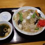 つくし - 中華丼700円