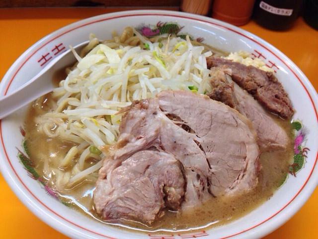 ラーメンエース 八王子店 - 大ラーメン (ニンニク) ¥-750