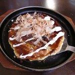 お好み焼きマツモト - お好み焼き定食 その1