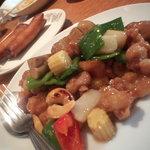 Yokohamachuukagaikeichinrou - 野菜、カシュナッツ、豚肉の炒め物