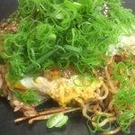 八丁堀 - 料理写真:八丁堀焼き(上にハンバーグがのっているバージョンです)