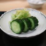 清壽 - 香の物