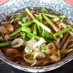 芭蕉茶屋 - 料理写真:山菜そば¥700