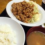 食事処 志野 - お勧めの肉しち