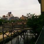 38025427 - 鴨川を眺めながらの食事が可能