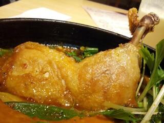 Rojiura Curry SAMURAI.  下北沢店 - (パリパリ)チキンのアップ