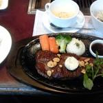 38026710 - 松阪牛ステーキ200g+ご飯セット