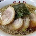 萬馬軒 - 醤油チャーシュー麺