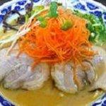 らーめん亀王 - 食べ応え抜群『味噌亀王』。自家製三種合わせ味噌を使ったとんこつスープです。