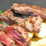 権倉 - 牛肉のグリル300g