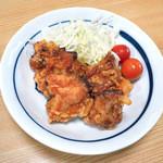 藤の家食堂 - 鳥の唐揚げ