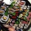 松井寿し - 料理写真:特上にぎり(4人前)と巻き寿司1本