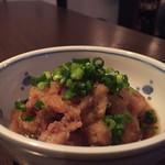 ソバーズ - ギモポン (揚げた砂肝ポン酢)