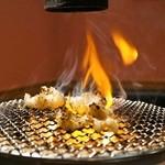 ホルモン和 - 2015.5 シマチョウを七輪で焼きます