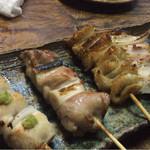 ヒノマル食堂 - 串5本