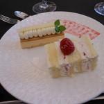 ラグナヴェール仙台 - レアチーズのムース ウェディングケーキ
