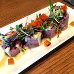 シェフズ・ブイ - 漬けマグロとアボカド、山芋の雑穀ロール 518円