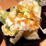 八郎酒場 桜木町店 - キャベツ。たれが美味しかった。