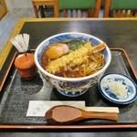 若松そば - 再々訪:天ぷらそば(ホット)