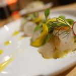 bar de pico - 鮮魚のカルパッチョ