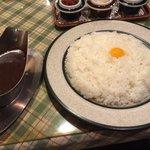 ぶるうべる - カレー&フルーツサラダ 1,300円のカレー☆(第一回投稿分③)