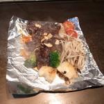錦わらい - サイコロステーキ