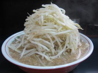 ラーメン 新橋店 - 2015.5.12 ラーメン(小)、やさい・脂増しで麺カタで